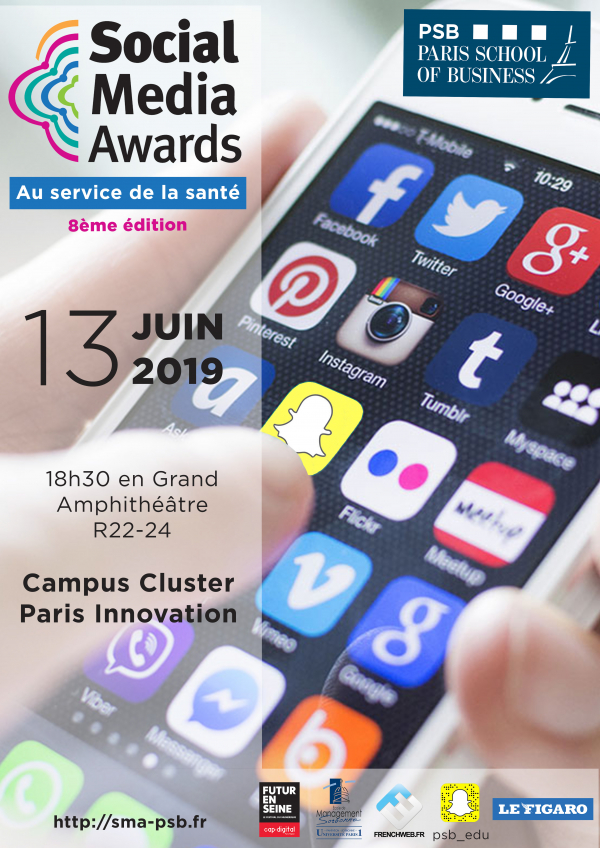 8° édition des Social Media Awards de PSB Paris School of Business