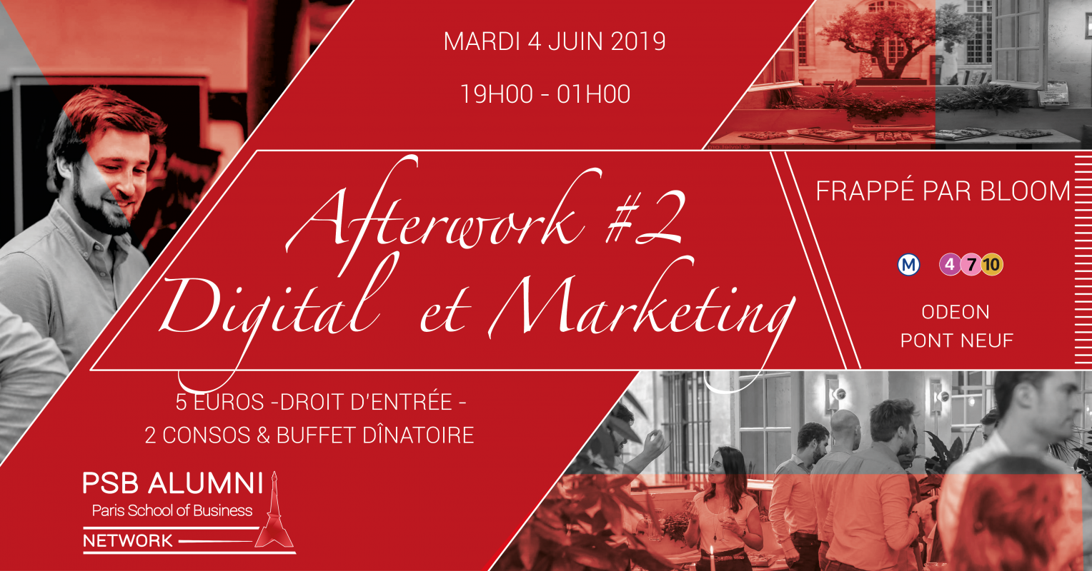 Afterwork Digital et  Marketing   #2